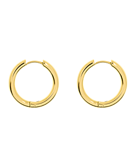 HOOPS GOLD 22 MM