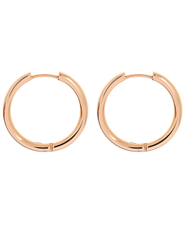 HOOPS ROSE 25 MM