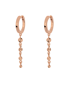 RADIANT CIRCLES HOOPS ROSE