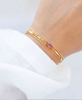 CURB CHAIN  Armband Gold