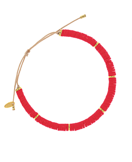 HEISHI COLORS  Armband Rot