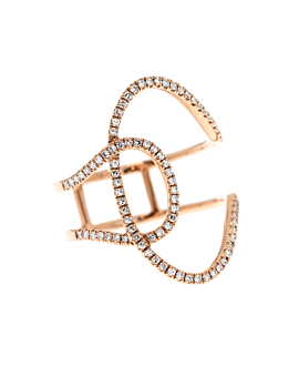 DIAMOND RING 14K ROSE GOLD