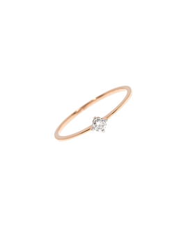 SOLITAIRE Ring|14K Roségold