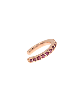 GRANAT Ear Cuff Single Rosé