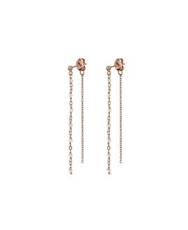 MOONSTONE|Ear Jackets Rosé