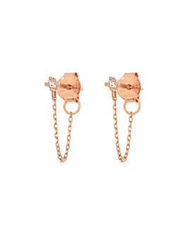 TOPAZ Ear Jackets Rosé