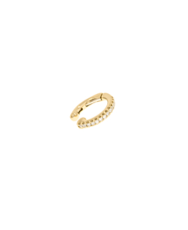 DIAMOND Ear Cuff|Single 14K Gold