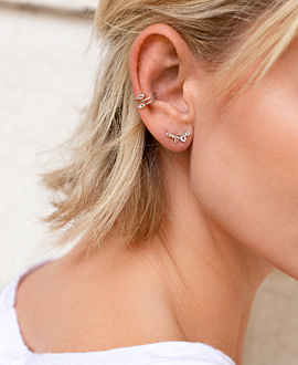 MARQUISE Ear Cuff  Single Silber