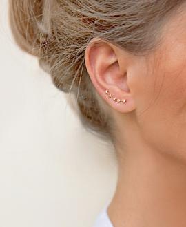 STAR Ear Climber Rosé