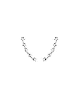 STAR|Ear Climber Silber