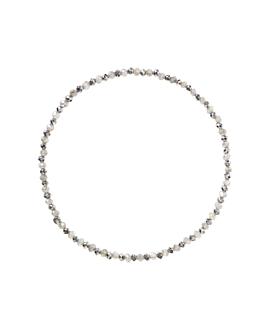 LABRADORIT|Armband Silber