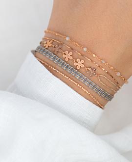 FLORETS  Armband Rosé