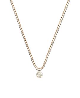 DIAMOND Halskette|18K Gold Bi-Color