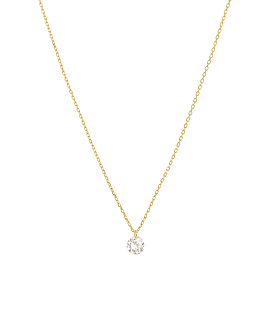 DIAMOND Halskette|18K Gold