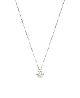 DIAMOND Halskette|18K Weißgold
