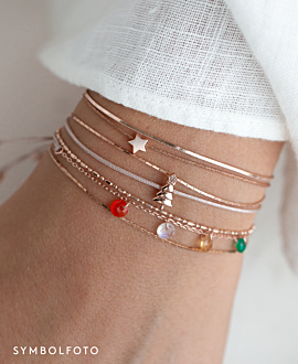 FLYING GEMS Armband Rosé