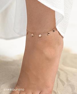 GYPSY  Fußkette Gold