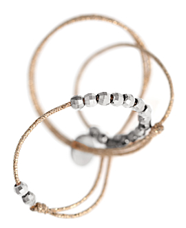 SILVER SHINE  ANKLET SILVER