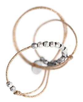 SILVER SHINE  Fußkette Silber