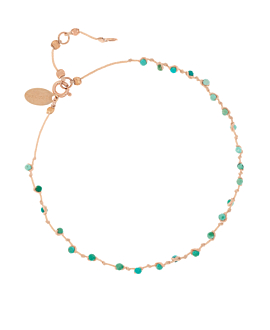 BEADS ANKLET BEIGE