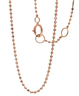 ESSENTIAL ANKLET 14K ROSE GOLD