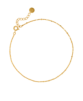 ESSENTIAL|Fußkette Gold