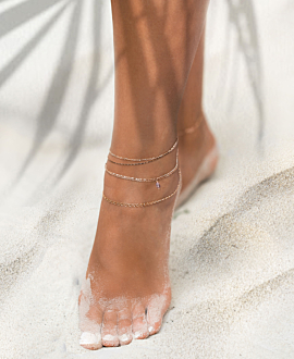 ESSENTIAL ANKLET ROSE
