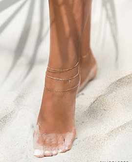 ESSENTIAL ANKLET SILVER