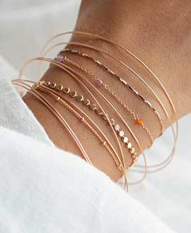 GLANCE Armband Rosé