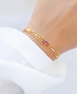 GLOW  Armband Gold