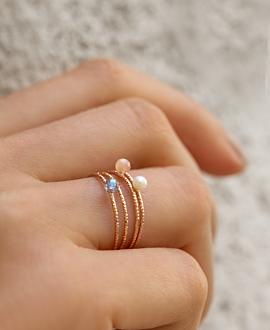GRACE  Ring Rosé