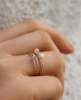 SAPHIR  Ring Rosé