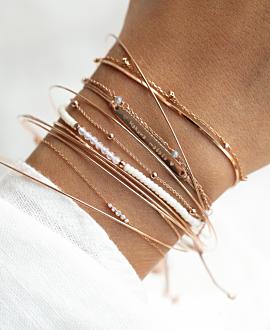 GRACIOUS  Armband Grau
