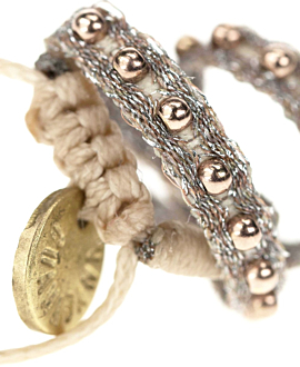 ETHNO Armband Silber