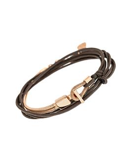 CHEER|Armband Dunkelbraun