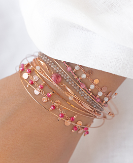 GYPSY CHALCEDONY  Armband Rosé