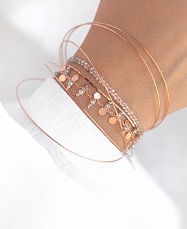 GYPSY LABRADORITE  Armband Rosé