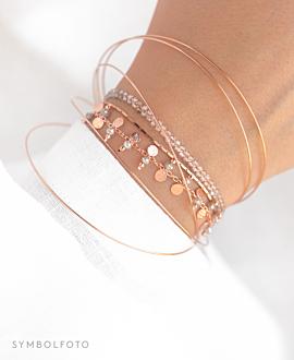 GYPSY SPINEL  Armband Rosé