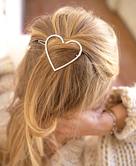 JOY HAIR JEWELRY HEART