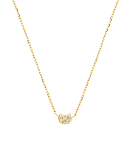 DIAMOND Halskette|10K Gold