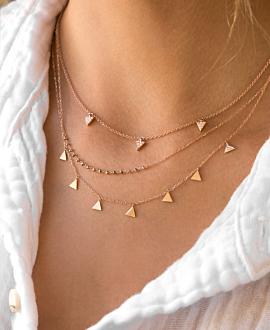 CANDID Halskette 10K Roségold