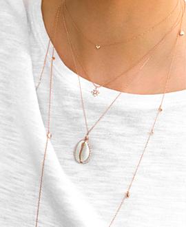 DIAMOND Halskette  10K Roségold