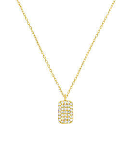 DIAMOND Halskette|14K Gold