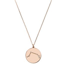 WIDDER Halskette|14K Roségold