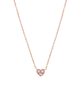 SAPPHIRE Halskette|14K Roségold
