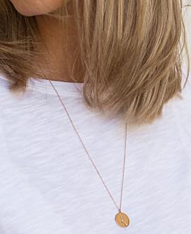 KREBS Halskette 14K Roségold