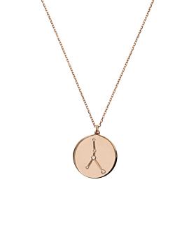 KREBS Halskette|14K Roségold
