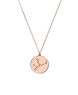 JUNGFRAU Halskette|14K Roségold