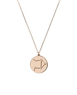 WAAGE Halskette|14K Roségold