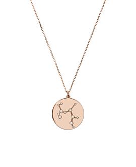SCHÜTZE Halskette|14K Roségold